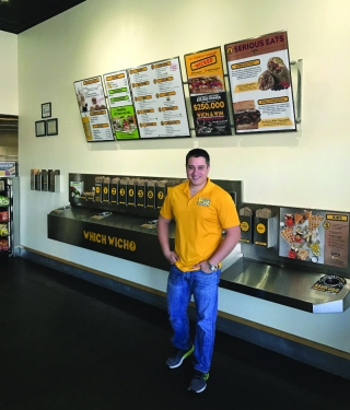 Vet Anthony Maquinalez - Which Wich Owner